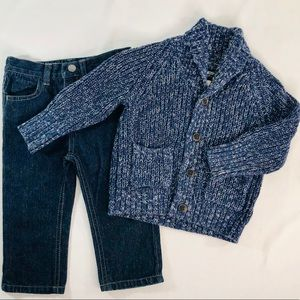 OshKosh Sweater & Nautica Jeans